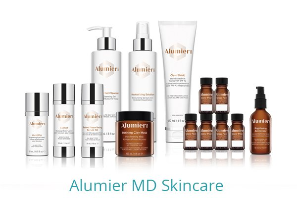 Products - AlumierMD Skincare available from Elite Laser Aesthetics, Cork