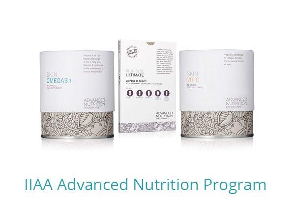 Products - IIAA Advanced Nutrition Program available from Elite Laser Aesthetics, Cork